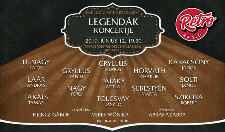 Legendák koncertje